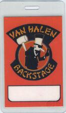 VAN HALEN 1984 Laminated Backstage Pass