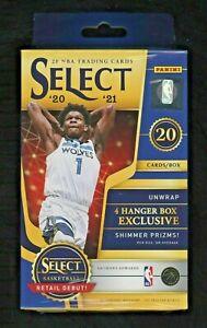 2020-21 Panini Select NBA Basketball Hanger Box Brand New Factory Sealed new