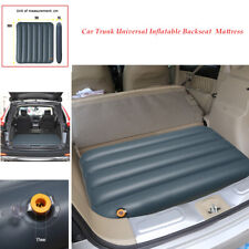 Car SUV Air Bed Inflatable Mattress Back Seat Trunk Cushion For Travel Camping