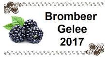 mi446#  40  Etiketten Aufkleber Marmelade Brombeeren