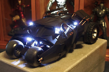 NEW Hot Toys MMS69 LED 1/6 Batmobile Tumbler Black Dark Knight Joker L@K Largest