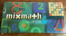 Vintage Wrebbit Mixmath Crossword Math Educational Board Game Unopened 1996