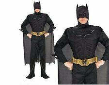 Adult BATMAN DELUXE DARK KNIGHT Muscle Chest Outfit TV Fancy Dress Costume Mens