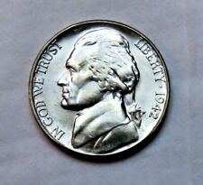 1942-S silver Jefferson Nickel__BU / MS__part of whole set listed_2