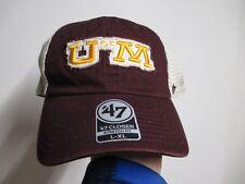 Minnesota Golden Gophers 47 Brand Closer Flex Fit Hat (L/Xl) Nwt $30 Vintage
