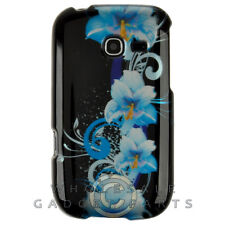 Samsung R480 Freeform 5 Shield Blue Flowers Protector Guard Shield