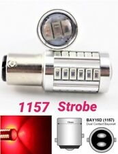 Strobe Front Signal 1157 2057 3496 7528 BAY15D P21/5W 33 SMD LED Bulb Red M1 MA
