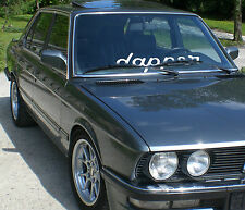 1x dapper Aufkleber Frontscheibe Heckscheibe 55cm cult Car Sticker