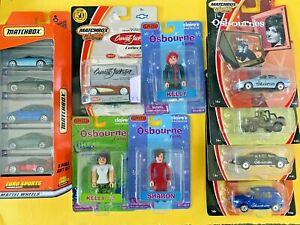 Vintage Lot of 9 Sealed Matchbox, Osbourne's Smiti, Barret Jackson, Euro Sports