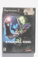Eternal Ring PS2 US NTSC in Good and Complete Condition From Software