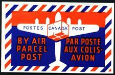 Air Parcel Post ~CANADA POST~ Striking Old ART DECO Label, c. 1955