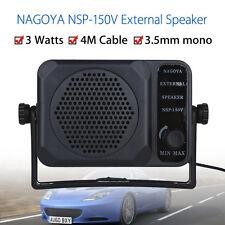 NSP-150V External Speaker for Yaesu Kenwood Icom Motorola Radio 3.5mm Portable