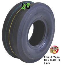 PZ Haybob 300 Tyre & Tube 15 x 6.00 - 6 ply hay bob turner rake tedder