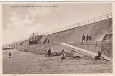 The New Sea Wall Looking South, HORNSEA, Yorkshire