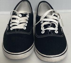 Vans Lace Up Black Pumps Us Size Ladies Us  9.5 Uk 6 Eu 40