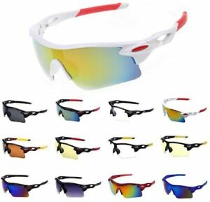 SPORT SUNGLASSES eye protection FOR running cycling golf beach driving skiing uv