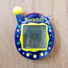 TAMAGOTCHI 2004 Blue Stars See Through Bandai RARE *damaged*