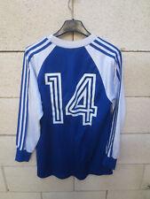 Maillot STRASBOURG porté n°14 vintage shirt trikot années 70 oldschool L / S M