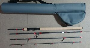 STUNNING HIGH CARBON TRAVEL SPINNING ROD 7' MEDIUM HEAVY 40-80G EX DISPLAY MINT