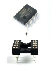 1PCS Burr Brown OPA2604AP OPA2604 + Socket Dual FET Operational Amplifier New IC