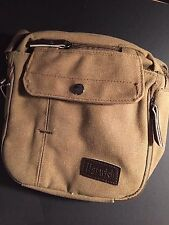 Harwish Small Men's Canvas Sports Over Shoulder Military Crossbody Side Bag