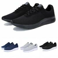 38-48 Mens Casual Sports Breathable Running Sneakers Athletic Tennis Shoes Gym