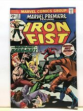 Marvel Premiere #19 Iron Fist VF+ 1st Colleen Wing MVS Intact