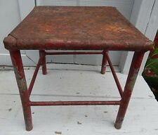 Neat Hand Made Vintage / Antique Steel Milking Stool