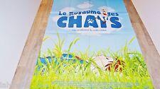 hayao miyazaki  LE ROYAUME DES CHATS   !  affiche manga , japon bd dessin