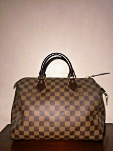 Authentic Louis Vuitton Damier Speedy 30