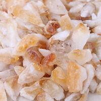 Natural Yellow Crystal Quartz Citrine Column Raw Stone Rocks Healing Specimens