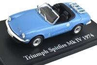 EXCELLENT ATLAS/NOREV DIECAST 1/43 1974 TRIUMPH SPITFIRE MKIV MK4 IN BLUE