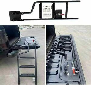 Universal Foldable Tailgate Ladder Fits for Nissan Navara/Frontier D21 Foot Step