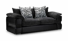 Faux Leather Sofas