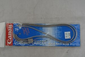 """Canon Compact Camera Metal Neck Strap 1, 34"""" length Made in Japan"""