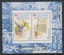 Grenada - 1976, American Revolution sheet - 2nd series - M/M - SG MS792