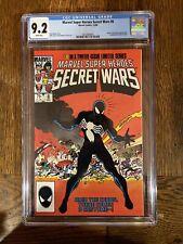 Secret Wars #8 (1984 Marvel) CGC 9.2 Origin Of The Black Suit Venom Spider-Man