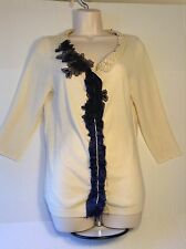 Gorgeous Brand New Wendi Reed (Barneys $440.00) 100% Cashmere Sweater Size Large