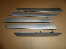 2013 13 AUDI A4 S-LINE B8 OEM INTERIOR DOOR DASH BOARD FISH SCALE ALUMINUM TRIM