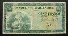 Martinique - 100 Francs - 1942
