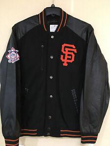 San Francisco Giants Men Varsity Jacket by G-III - Heavy Hitter Varsity Jacket