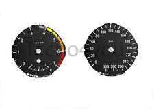 BMW Tachoscheiben für 1er E81 E82 E87 E88 Benziner 300 kmh km/h M1 Carbon Nr 108