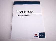 Suzuki VZR1800 Bedienungsanleitung Fahrerhandbuch Owners Manual deutsch Neu