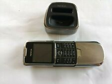 Nokia 8800 - Silver (Unlocked) Mobile Phone