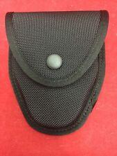 NEW GOULD & GOODRICH Black Ballistic Nylon Handcuff Case Belt Loop Snap Button