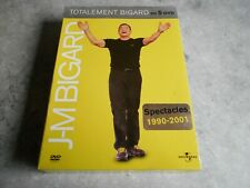 """COFFRET 5 DVD - JEAN-MARIE BIGARD - [ """"TOTALEMENT BIGARD"""" ] - SPECTACLES 90 - 01"""