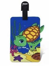 Sea Life Turtle Starfish Luggage Tags Backpack Diaper Bag ID Badge