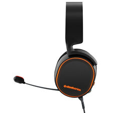 SteelSeries Arctis 5 RGB Illuminated Gaming Headset with DTS Headphone-Black