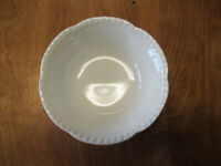 """Johnson Bros England OLD ENGLISH WHITE Coupe Cereal Bowl 6 1/2""""     2 available"""