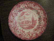Wedgwood Plate, Harvard University, Massachusetts & Dane Halls
